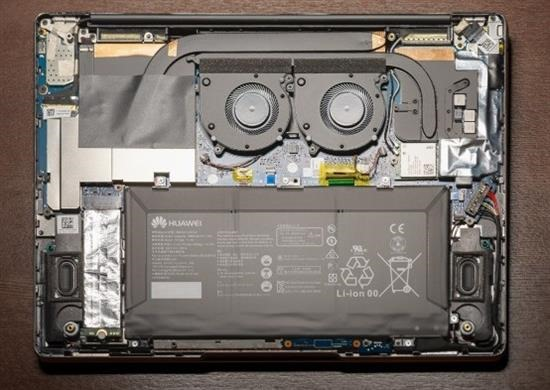 Huawei MateBook 13 battery removal