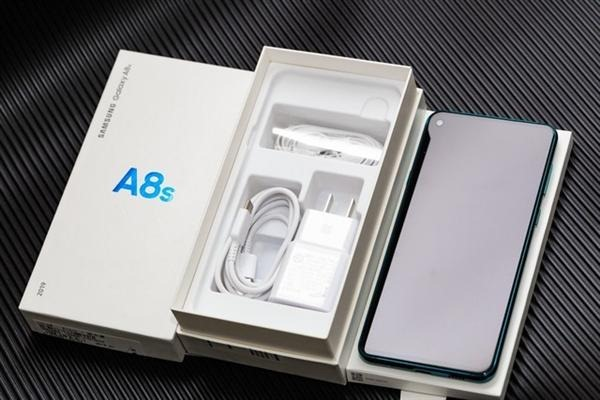 galaxy a8s unboxing