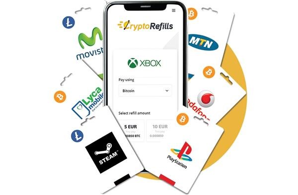 Buy Play Store gift card with bitcoin and litecoin using