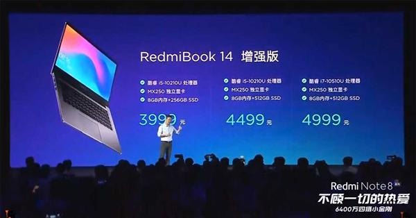 RedmiBook 14 2019 specifications