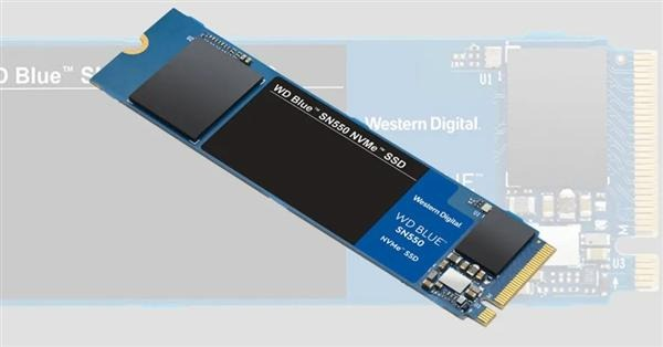 Western digital Blue SN550 review