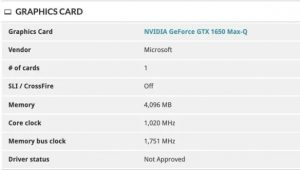 """It is not common to find equipment that is designed, in theory, to work, with dedicated graphics cards that can turn the equipment into """"something else."""" A new benchmark that has been leaked shows the next Microsoft Surface Book 3 convertible equipped with NVIDIA Max-Q graphics, and also with two different versions. Certainly, it has been quite strange that Microsoft did not reveal its new Surface Book 3 in the last events - or first - of the year, but fortunately that does not mean that the company does not already have it in the spotlight. It is confirmed by the latest leaked benchmarks, which show us an advance of the hardware and the specifications that this equipment will have and that, really, are promising. Certainly, the hardware of the Surface family has become quite obsolete in recent times, and it seems that Microsoft has a hard time adopting the new generations of hardware that have been released. However, it seems that now Microsoft is going to change the rules of the game because according to the benchmarks that we are going to show you below, Microsoft has provided its next convertible with a next-generation hardware that includes tenth-generation Intel Core processors and NVIDIA Max-Q graphics, with two options at the user's choice that include a GTX 1650 and a GTX 1660 Ti, both in its Max-Q variant. Unfortunately, it seems that we cannot count on high-end Intel tenth-generation processors (those of 45W of TDP), but we will have to settle for low-consumption options. Among the processors available on the Surface Book 3 are a 1.30 GHz quad-core Core i7-1065G7 and a 15-watt TDP, but Microsoft is expected to decide to increase the configurable TDP range to at least 25 watts to improve (quite ) machine performance. It is noteworthy that it is strange that none of these potential specifications include AMD Ryzen processors, especially considering the improvements proposed by the company with the Ryzen 4000 family and that already made us think almost ever"""