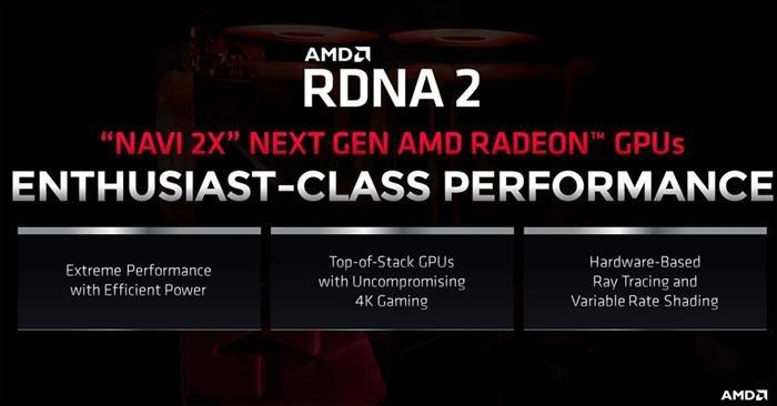 AMD RDNA 2 gddr6
