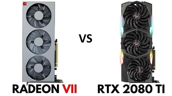 AMD Radeon VII vs NVIDIA GeForce RTX 2080