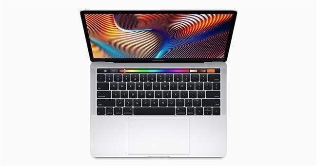 MacBook Touch Bar air gestures