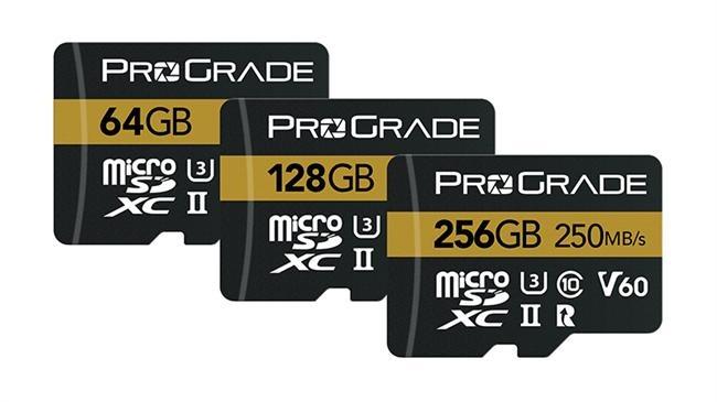 ProGrade Digital microSDXC UHS-II V60 250R