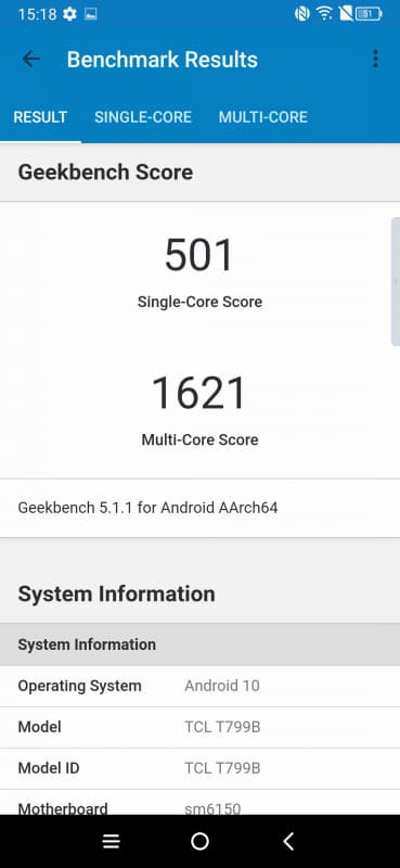 TCL 10 Pro Review benchmark