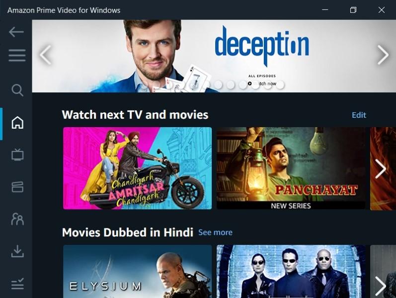 Download Amazon Prime Video app for Windows 10