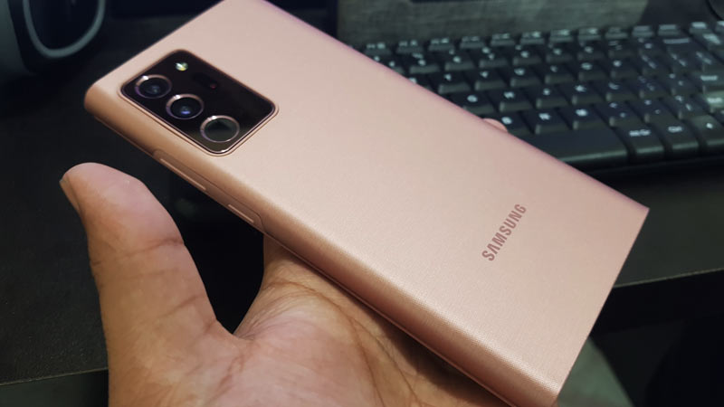 Galaxy Note 20 Ultra LED View Cover review
